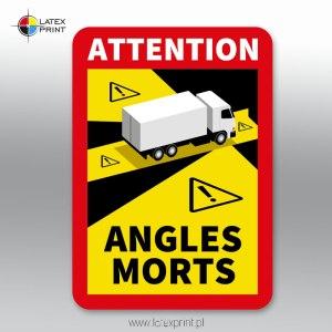 AUTOCOLLANT ANGLES MORTS
