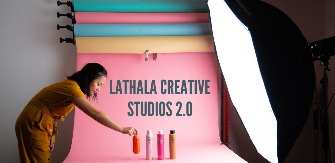 We moved into a new photography studio!
