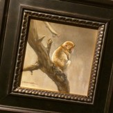 My painting, Passing Time - Snow Monkey, on its way to Singapore for 2015's largest exhibition of wildlife art in Asia hosted by Mandala Fine Art @mandalafineart at Orchard Gateway