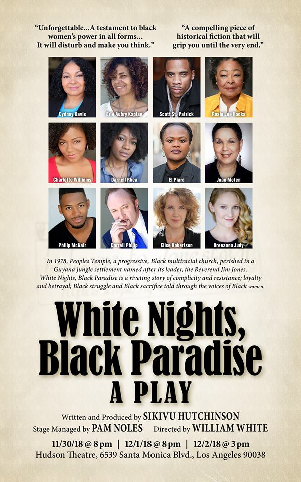 White Nights, Black Paradise @ The Hudson Theatre in Hollywood - Review