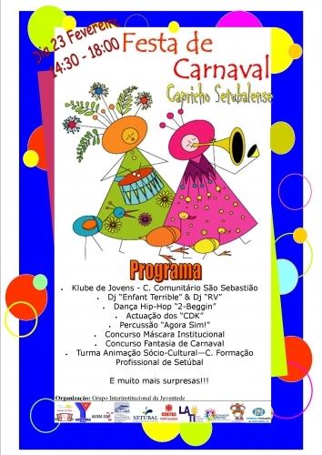 Grupo Interinstitucional Da Juventude Promove Baile De Carnaval