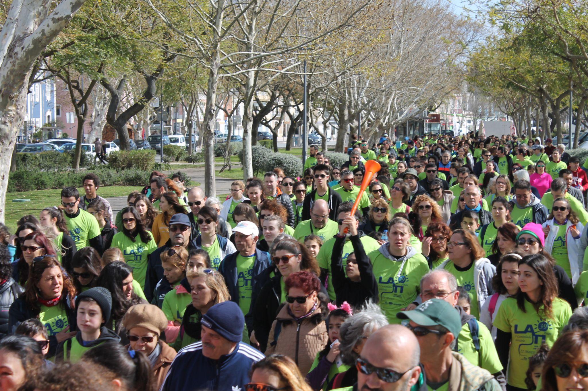 V Caminhada Solidária da LATI