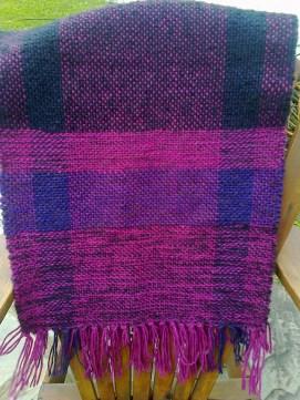 Chal colorido de lana