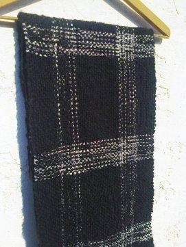 Bufanda en telar