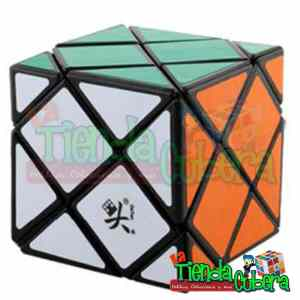 Dino Skewb Dayan Four Cube Base Negra Speed Cube