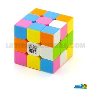 YJ Yulong 3x3x3 Stickerless Pink