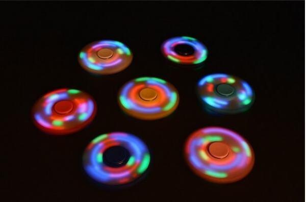 Fidget spinner LED 3 Alloy