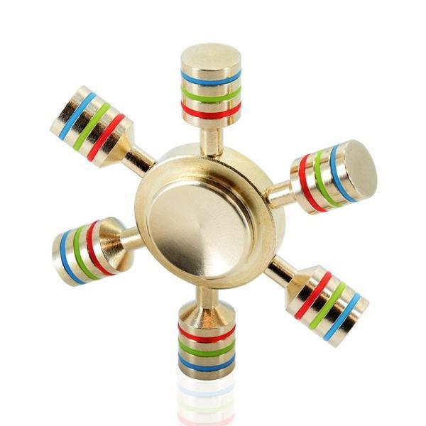 Fidget spinner piston