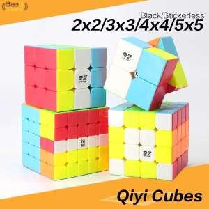 Qiyi 2x2 3x3 4x4 5x5 Pack