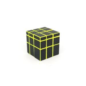Qiyi Mirror 3x3 Carbon Fiber Amarillo