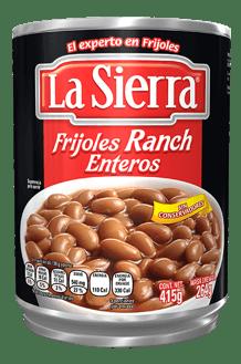 Frijoles Rancheros Enteros La Sierra en Lata