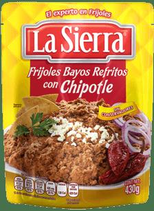 Frijoles Bayos Refritos con Chipotle La Sierra