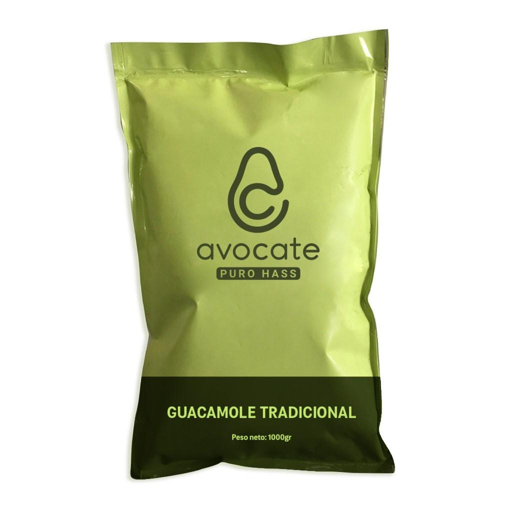 Guacamole Tradicional de Puro Hass Avocate