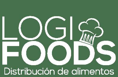 Logo Logi Foods Blanco - Distribución de Alimentos