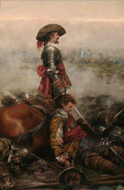 """Lámina """"Alférez de España"""""""