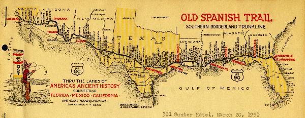 Medio dólar conmemorativo del «Old Spanish Trail»