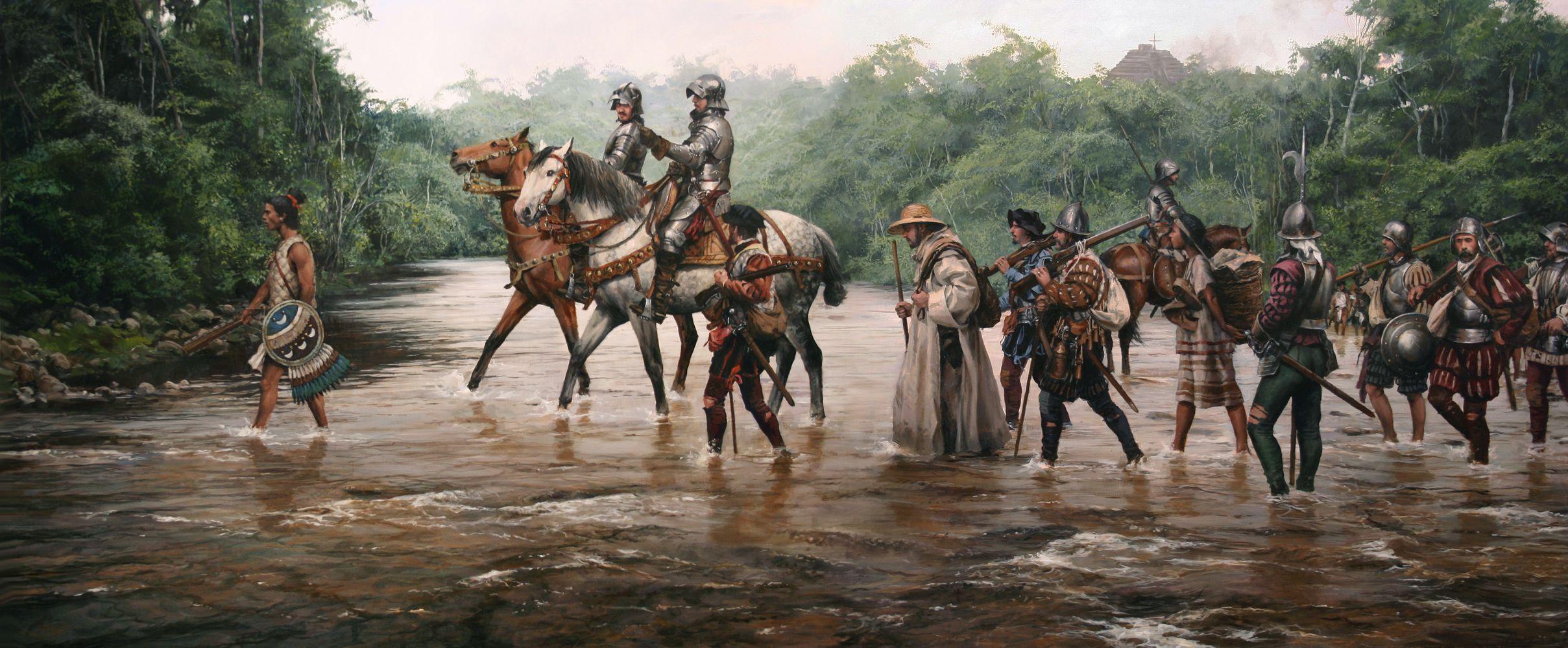 "Lámina ""Camino de Cortés"""
