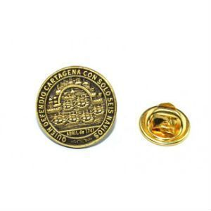 Pin medalla homenaje Blas de Lezo