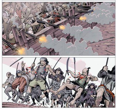 Cómic «Espadas del fin del mundo»