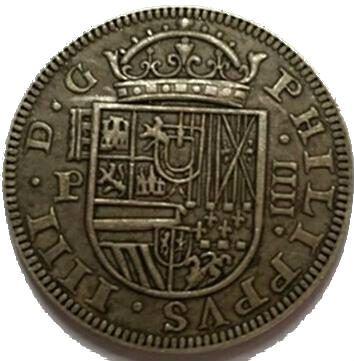 Moneda 4 Reales (Ceca de Segovia) – 1660