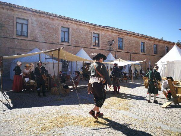 Campamento de los Tercios en Lerma