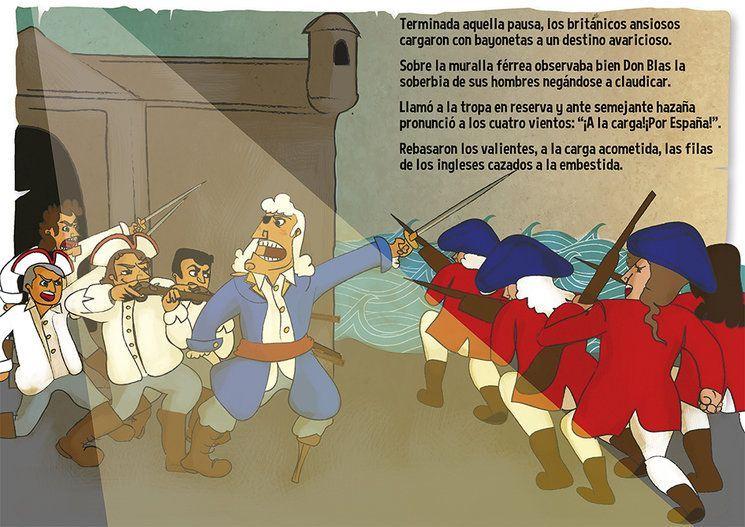 """""""Blas de Lezo y la defensa de Cartagena de Indias"""", Manuel Ángel Cuenca"""