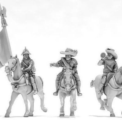 Grupo de Mando a caballo TE