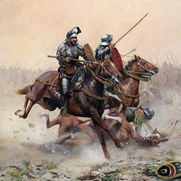 """Lámina """"Batalla de Otumba"""""""