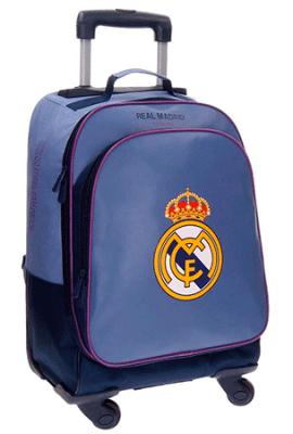 Mochila modelo Campus del Real Madrid. Mochila infantil para el colegio.