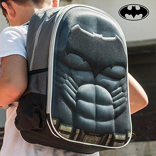 Mochila infantil para el colegio de Batman.