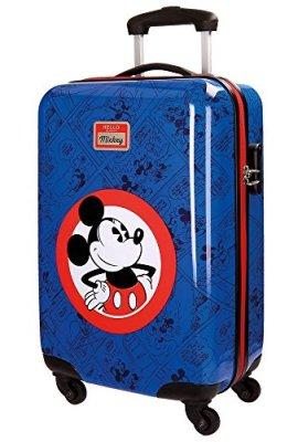 Maleta infantil estilo retro de Disney Hello Mickey de Jouma Bags.