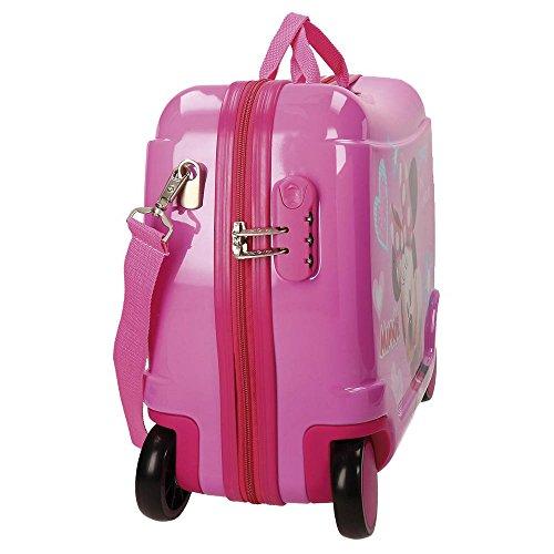 Maleta correpasillos de Joumma Bags para niños Disney Minnie Fabulous.