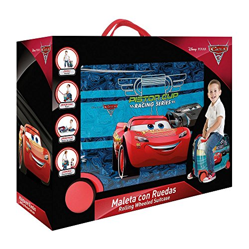Maleta correpasillos Disney Racing Series de Next Door.