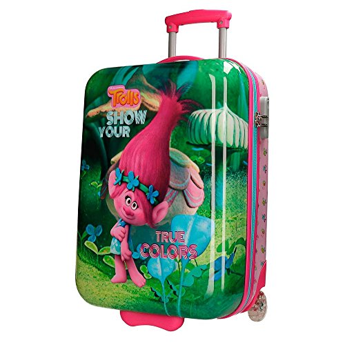 Maletas de Joumma Bags para niña Trolls True Colors.
