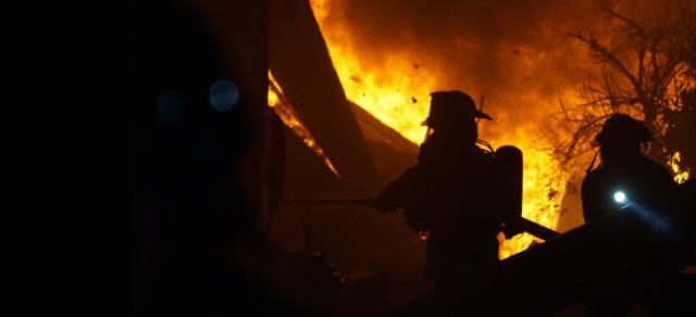 Feuerwehr und Hilfskräfte im Dauereinsatz