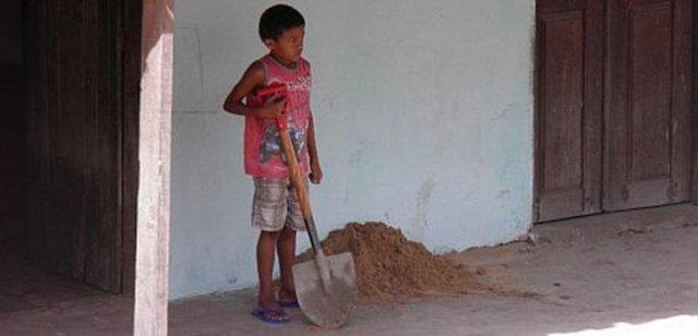 Im südamerikanischen Land Brasilien lag die Kinderarbeit im Jahr 2015 bei etwa 2,6 Millionen
