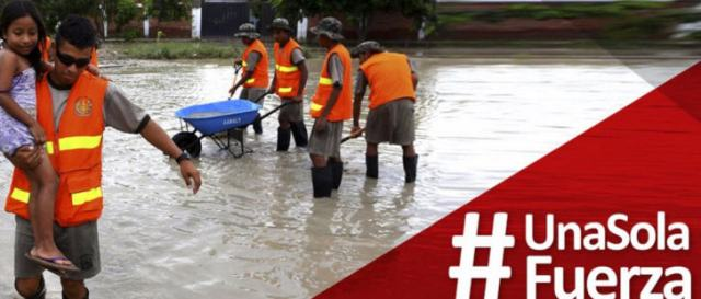 Die sinflutartigen Niederschläge werden als atypisch für das Wetterphänomen El Niño bezeichnet