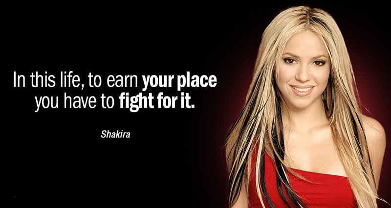 Famous Shakira Quote