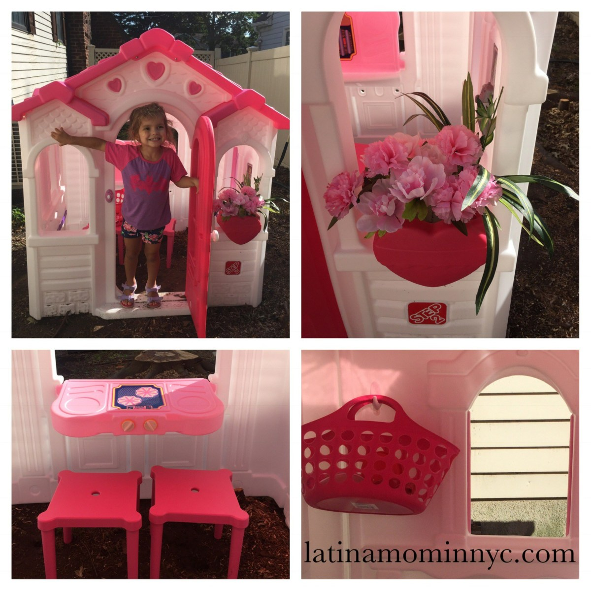 Decorate A Playhouse with Ikea & Dollar Tree Finds