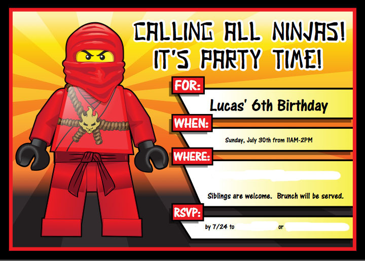 7 Ninjago Party Ideas With Free Printables