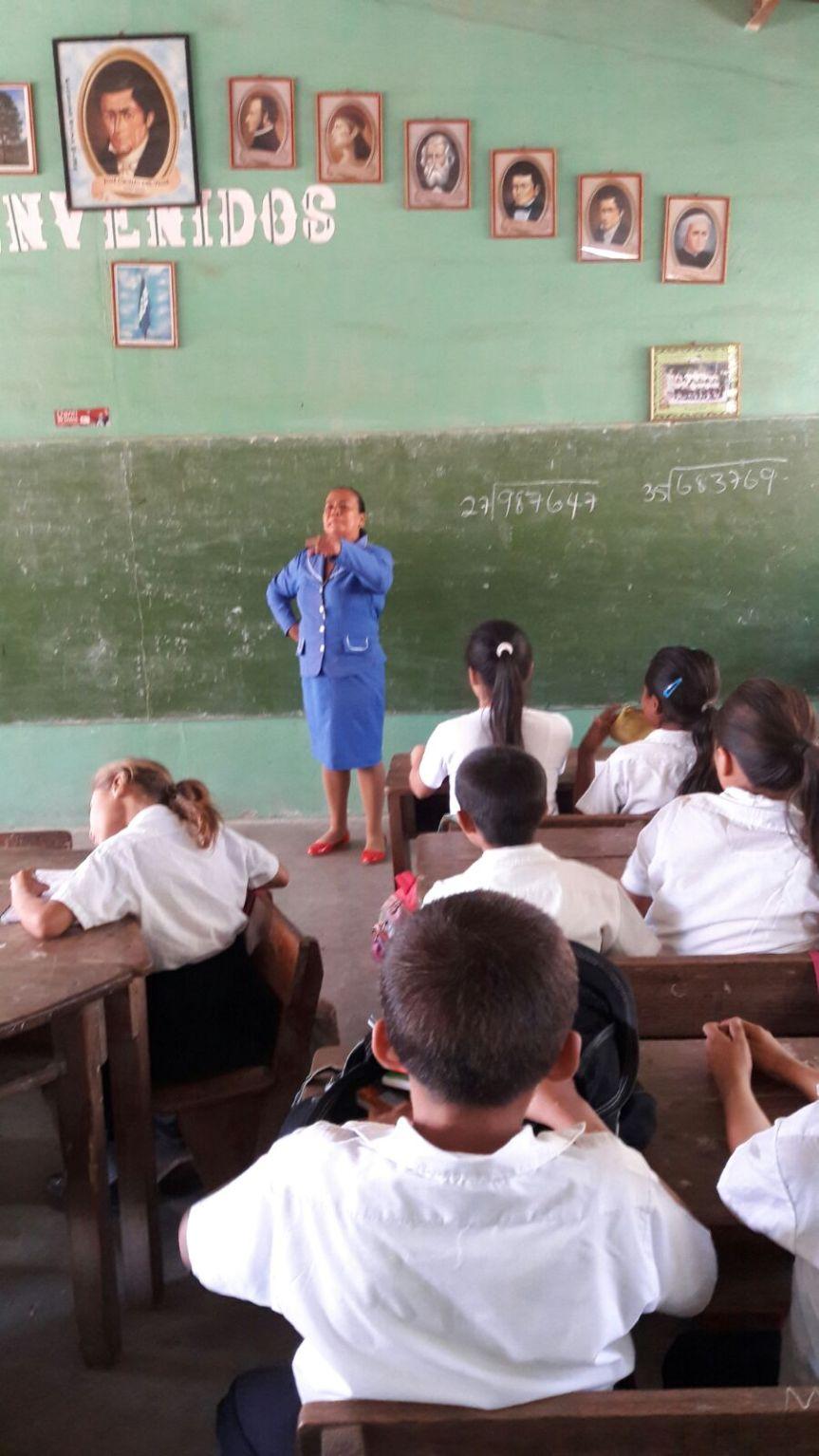 Gloria Teaching Math.
