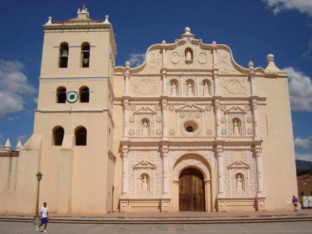 Comayagua Cathedral and City Hall. Photo, courtesy, Cordelia Fajardo
