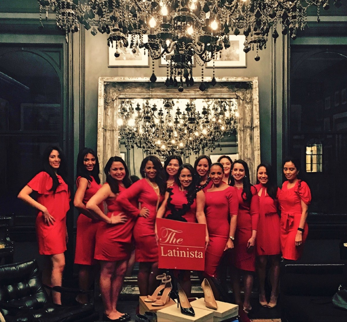 Supporting The Latinista Little Red Dress Event hosted by Trunk Club!