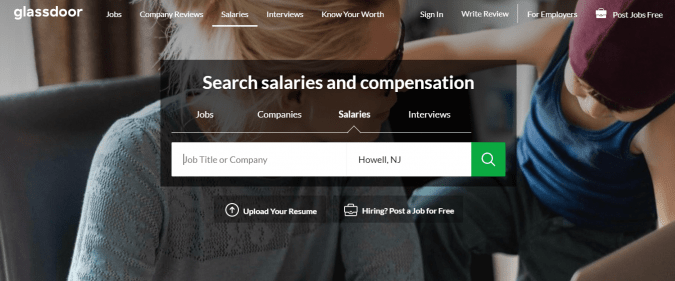 review your salary