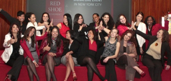 Red Shoe Movement Signature event in New York City
