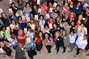 Tesoro group shot 4 with my book