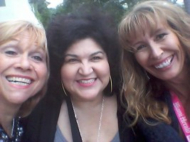 A good laugh with Kathy Cano-Murillo and Lorraine C Ladish