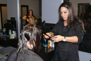 Ona Diaz-Santin Celebrity Stylist at 5 Hair Salon