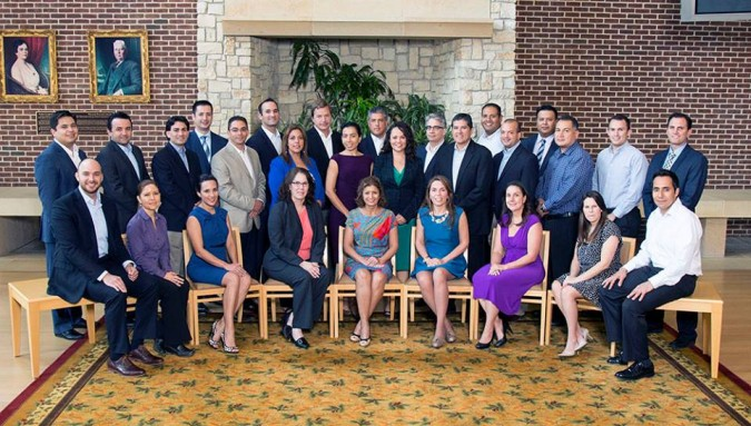 The National Hispanic Corporate Council and SMU Cox Graduates Cohort of Potential Hispanic Corporate Leaders 2015.