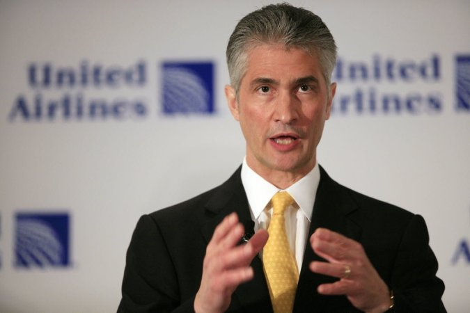 CEO Jeff Smisek, United Airlines